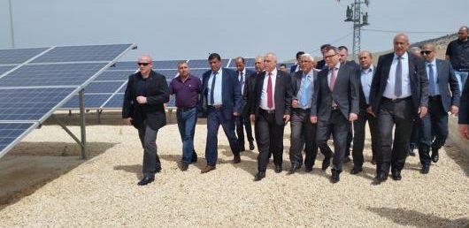 Ministr zahraničních věcí ČR Lubomír Zaorálek navštívil partnerskou zemi ZRS ČR Palestinu