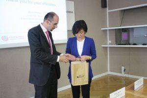Ředitel ČRA na jednání s korejskou delegací