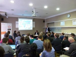 Ředitel ČRA Michal Kaplan prezentuje činnost ČRA v roce 2014