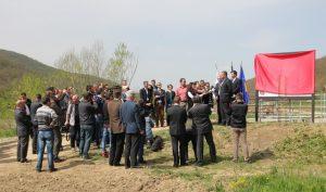 Projev před zástupci médií (foto: Pavel Jirák, Ircon)