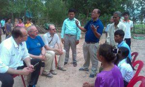 Ředitel ČRA a poslanci Parlamentu navštívili rozvojové projekty v Kambodži