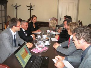 Moldavský ministr životního prostředí na návštěvě v ČRA