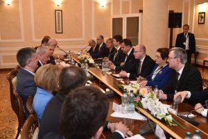 Premiér Sobotka jednal v Moldavsku o rozvojové pomoci i hospodářské spolupráci