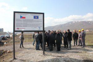 Výstavba čistírny odpadních vod v obci Harilaçi