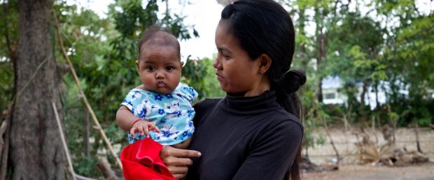 The mortality rate for children in Cambodia has fallen ...