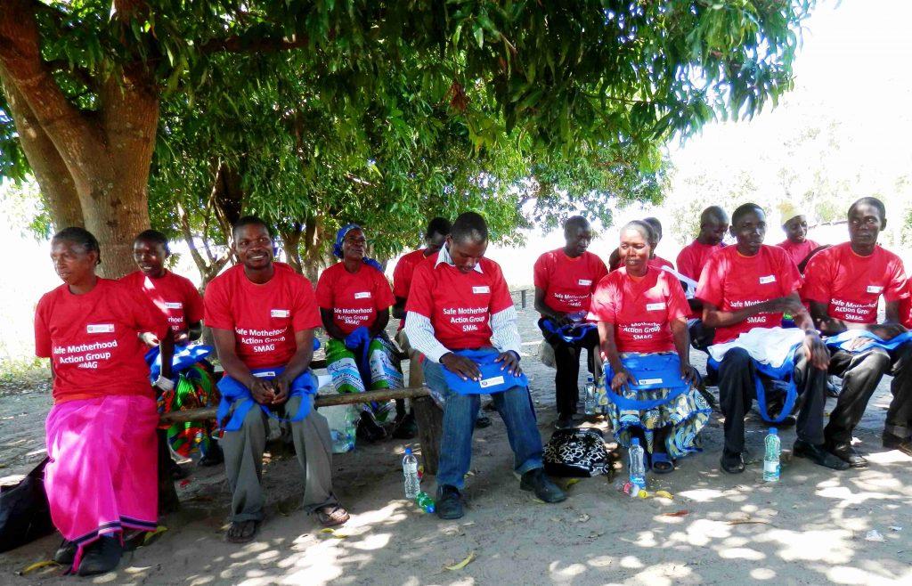 Školení dobrovolníků ze Safe Motherhood Action Group