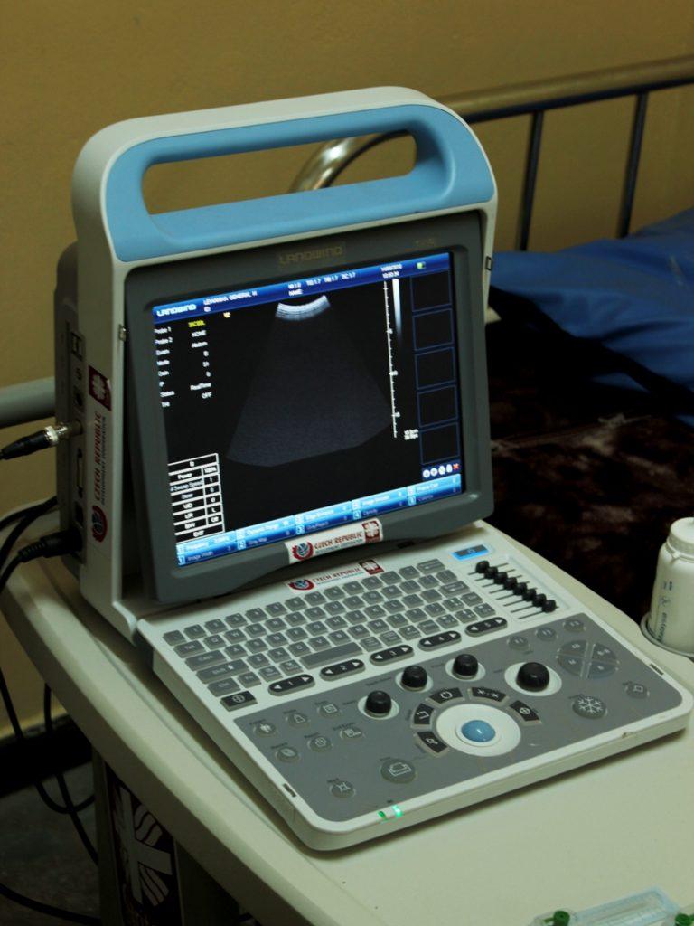 Nově pořízený mobilní ultrazvuk